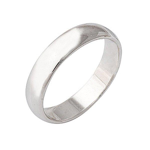 Кольцо обручальное выполнено из белого золота пятьсот восемьдесят пятой пробы. . Cредний вес кольца составляет 3